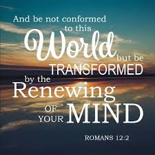 romans 12 2 be transformed